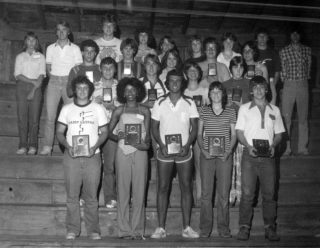 Here's a picture from the archives of our 1979 camp.  41 years later, let's put your face in this picture of our camp award winners!  Hope to see you at our 79th Conservation Camp this June